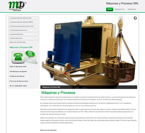 www.maquinasyprocesos.com.ar