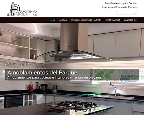 www.amoblamientosdelparque.com