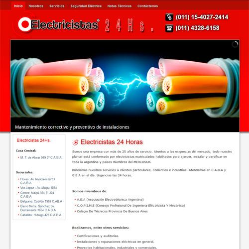 www.electricistas-24hs.com.ar