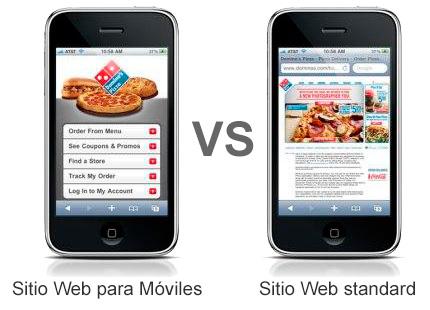 diseño de paginas web para moviles