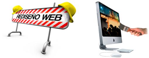 rediseño de paginas web
